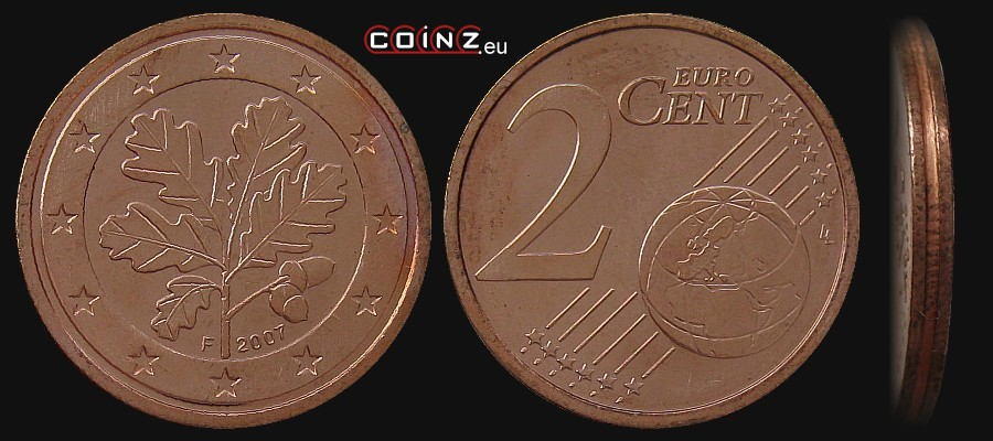 2 euro cent from 2002 german coins. Black Bedroom Furniture Sets. Home Design Ideas