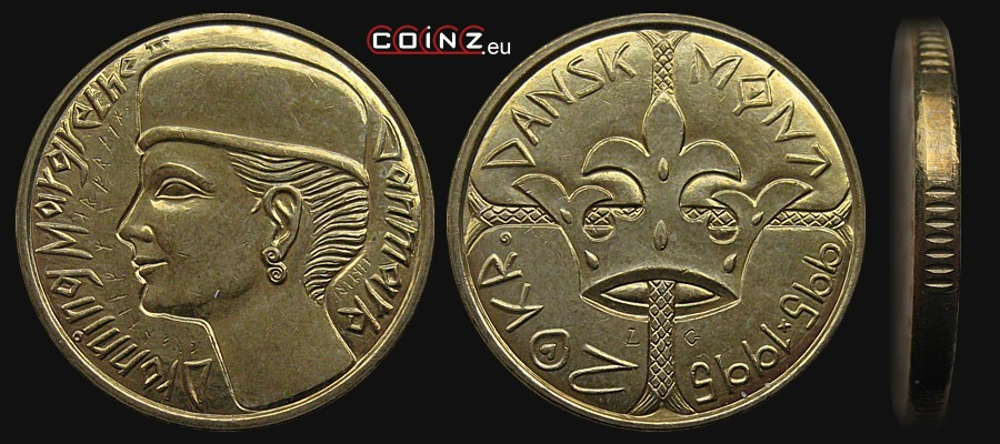 Coinz Eu 20 Kroner 1995 1000 Years Of Danish Coinage Coins Of Denmark